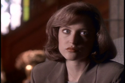 scully looks back