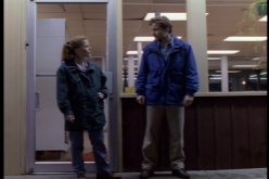Height difference. **crew begins building Gillian a box in earnest**